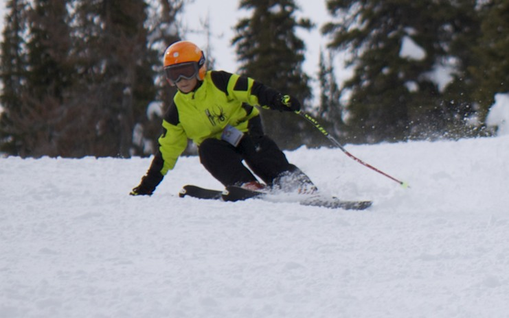 S carving it up at Sun Valley