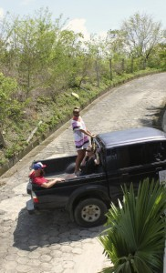 Preferred way to ride in Nicaragua
