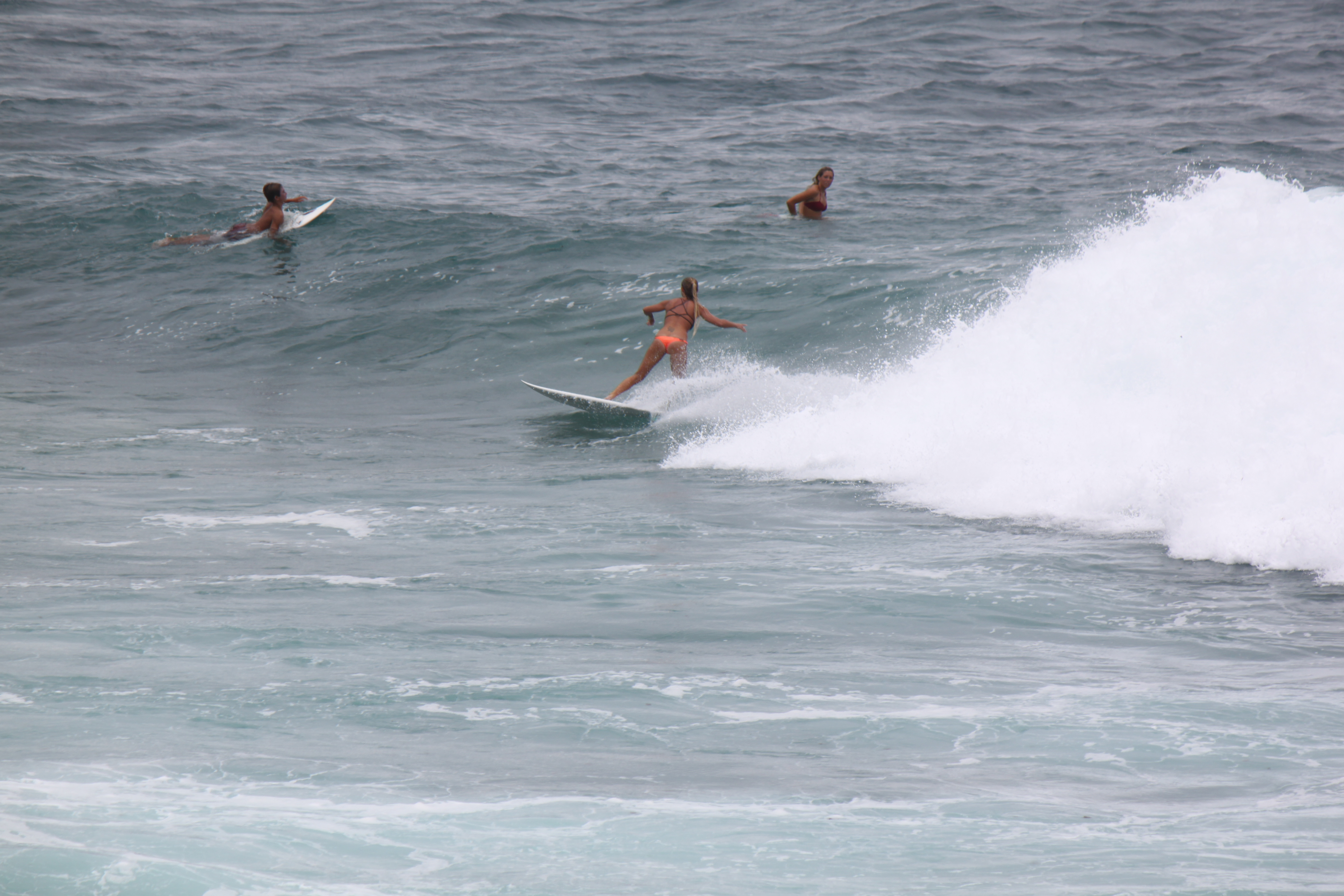 Ho'okipa State Park Surfing just a half mile from our house.